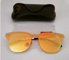 a35731ab0 Oculos Ray Ban Clubmaster Laranja no Mercado Livre Brasil