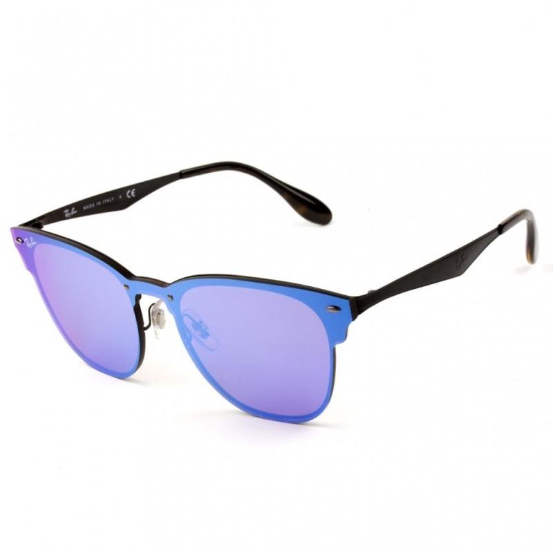 82e05117b óculos ray ban blaze clubmaster rb3576-n 153/7v 47 - nota f. Carregando  zoom.