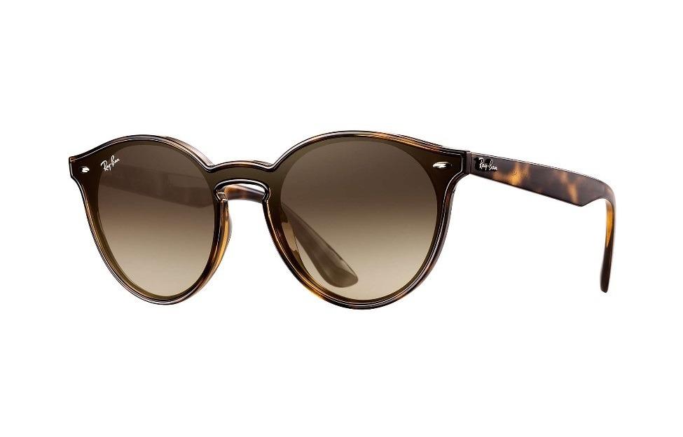 2fbdded9717d5 óculos ray ban blaze round rb 4380 710 13 marrom - original. Carregando  zoom.