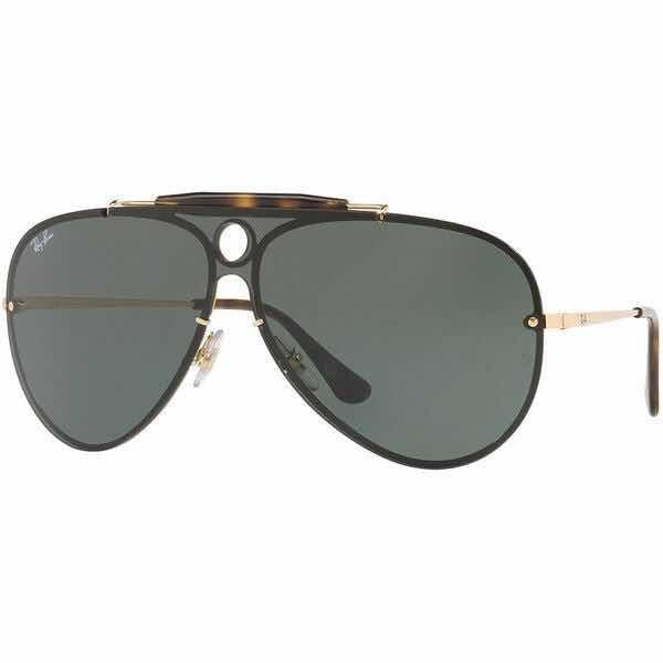 Óculos Ray Ban Blaze Shooter Preto Original - R  538,80 em Mercado Livre 202765cca0