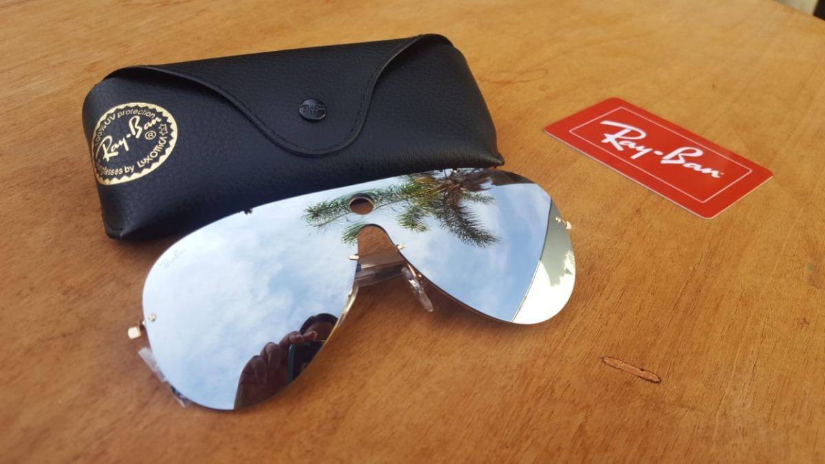 e44eda7708 óculos ray ban blaze shooter rb3581 original na caixa. Carregando zoom.