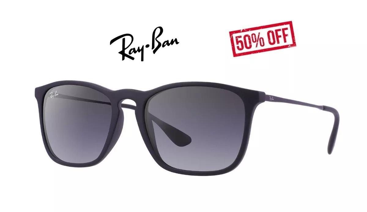 bae0d6a1ab8d7 óculos ray ban chris rb4187 original preto feminino promoção. Carregando  zoom.