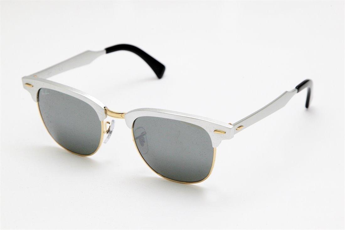 d9da738f5362f Óculos Solar Ray Ban Club Master Aluminium Rb3507 - R  169