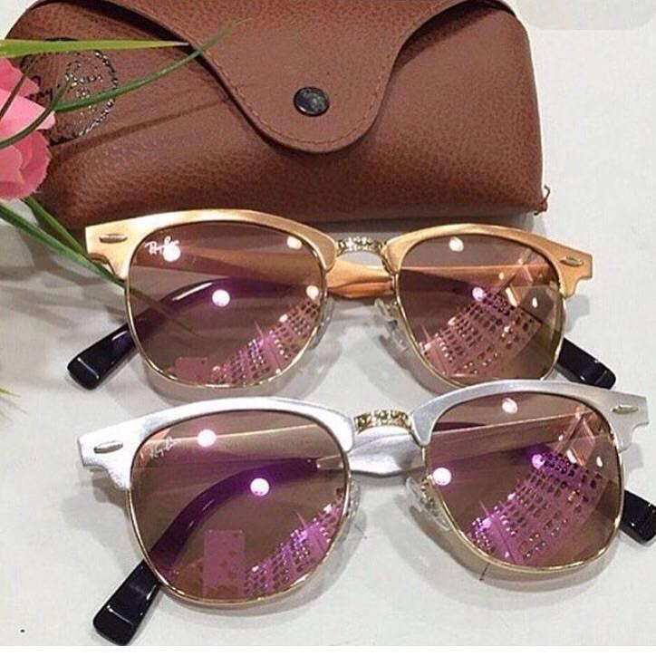 Oculos Ray Ban Clubmaster Aluminium Promoçao - R  289,90 em Mercado ... 4d5a3c0634