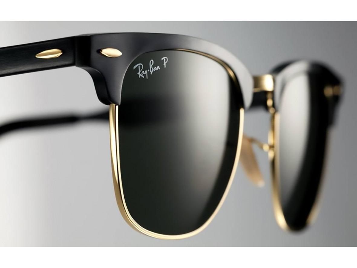 óculos ray ban clubmaster aluminium, rb3507 preto! confira. Carregando zoom. 31791b6ec2
