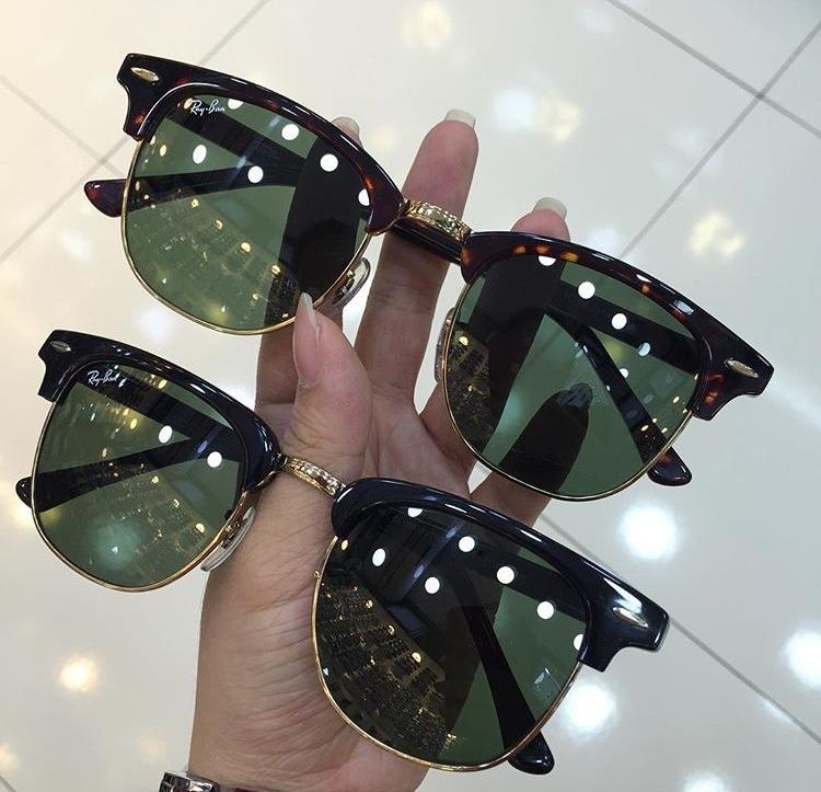 93d437abc9616 Óculos Ray Ban Clubmaster Classic Original Importado - R  339,00 em ...