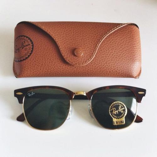 óculos ray ban clubmaster original