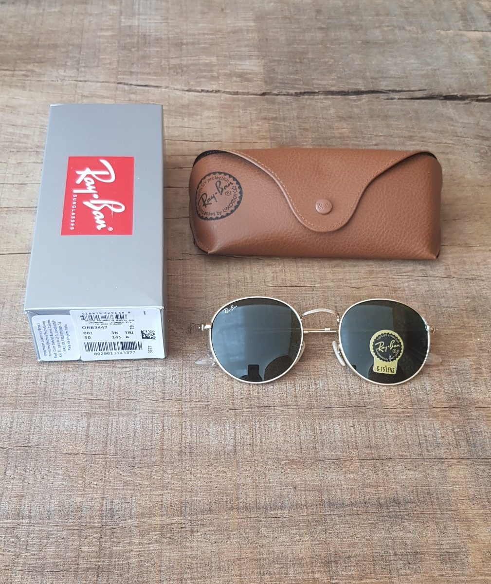 29929ac76b70f óculos ray ban clubmaster tartaruga g15 e round metal g15. Carregando zoom.
