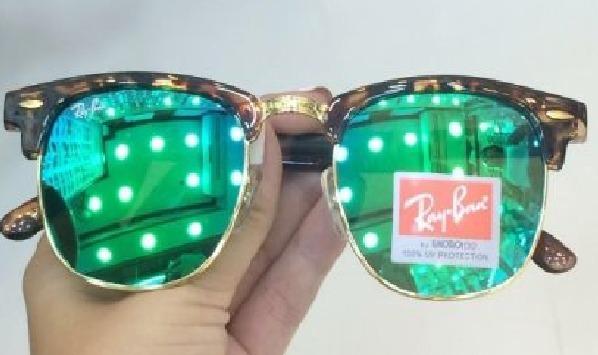 Oculos Ray-ban Clubmaster Verde Rb3016 Original 50%off - R  199,00 ... 6e173d5b6b
