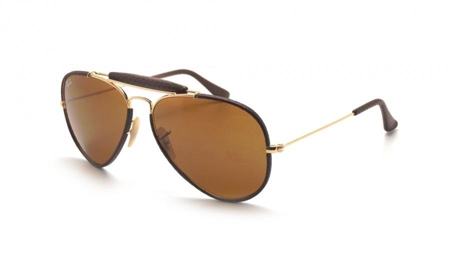 33bd2609adaf6 Óculos Ray Ban De Couro - R  700,00 em Mercado Livre
