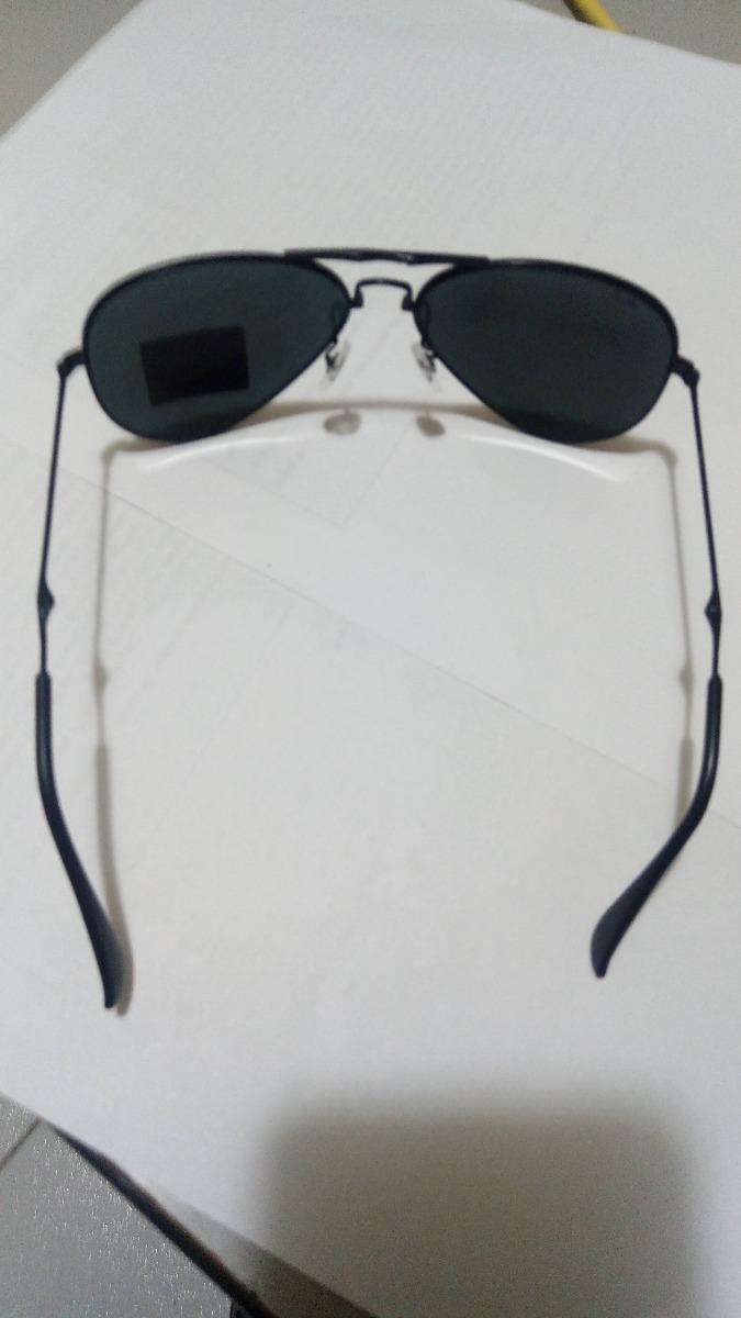 Oculos Ray Ban Dobravel Modelo Aviador Preto - R  220,00 em Mercado ... d24158f515