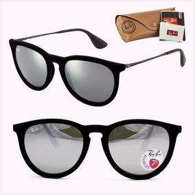8b6064d54 Óculos Ray Ban Erica Sol Veludo Espelhado Uv Foto Original 0