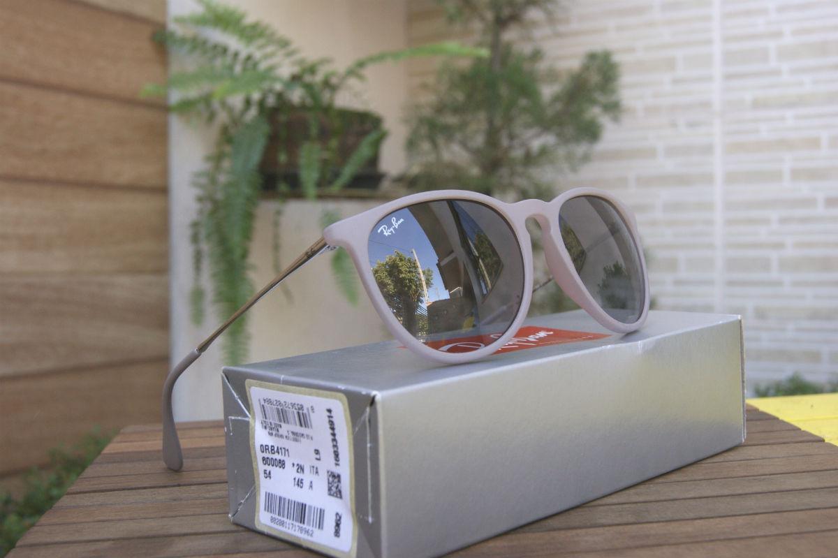 b501a040fc92a Carregando zoom... ban erika óculos ray. Carregando zoom... óculos feminino  ray ban erika rb4171 original pronta entrega