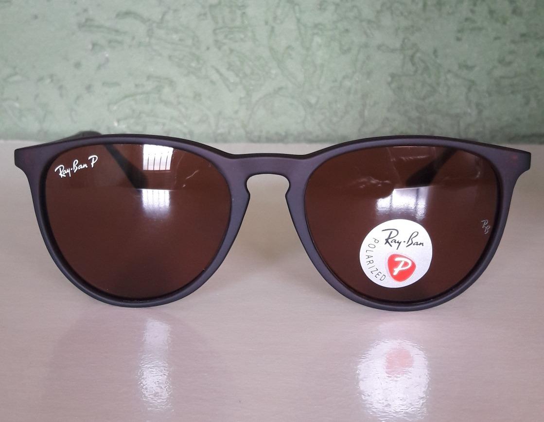 óculos ray ban erika polarizado marrom preto tartaruga. Carregando zoom. 15aeaae81a