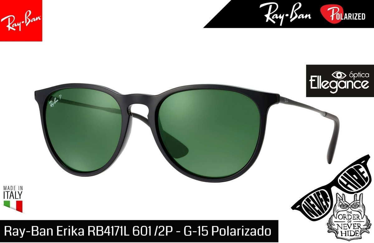 ece7a2b782 Óculos Ray- Ban Erika Rb4171 601/2p - R$ 487,00 em Mercado Livre