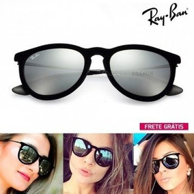 20ffae965 Oculo Rayban Espelhado Erika - Óculos no Mercado Livre Brasil