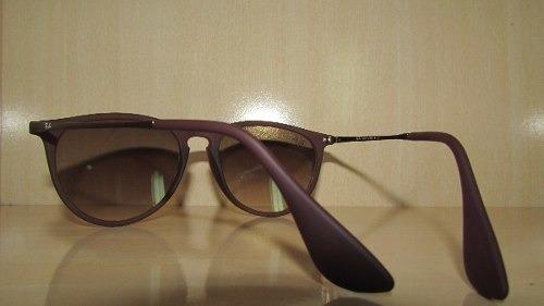 Óculos Ray-ban Erika Rb4171 Marrom Lente Degradê - R  269,49 em ... 81633609fc