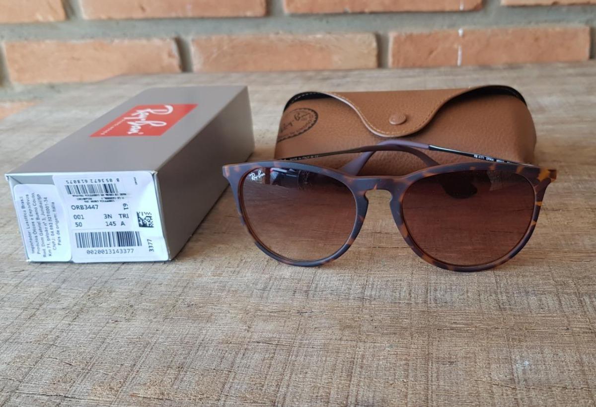 óculos ray ban erika rb4171 tartaruga marrom black friday. Carregando zoom. cc6a263d13