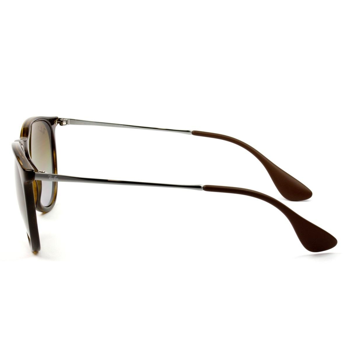 8785c276cc7f8 óculos ray- ban erika rb4171 - tartaruga   polarizado. Carregando zoom.