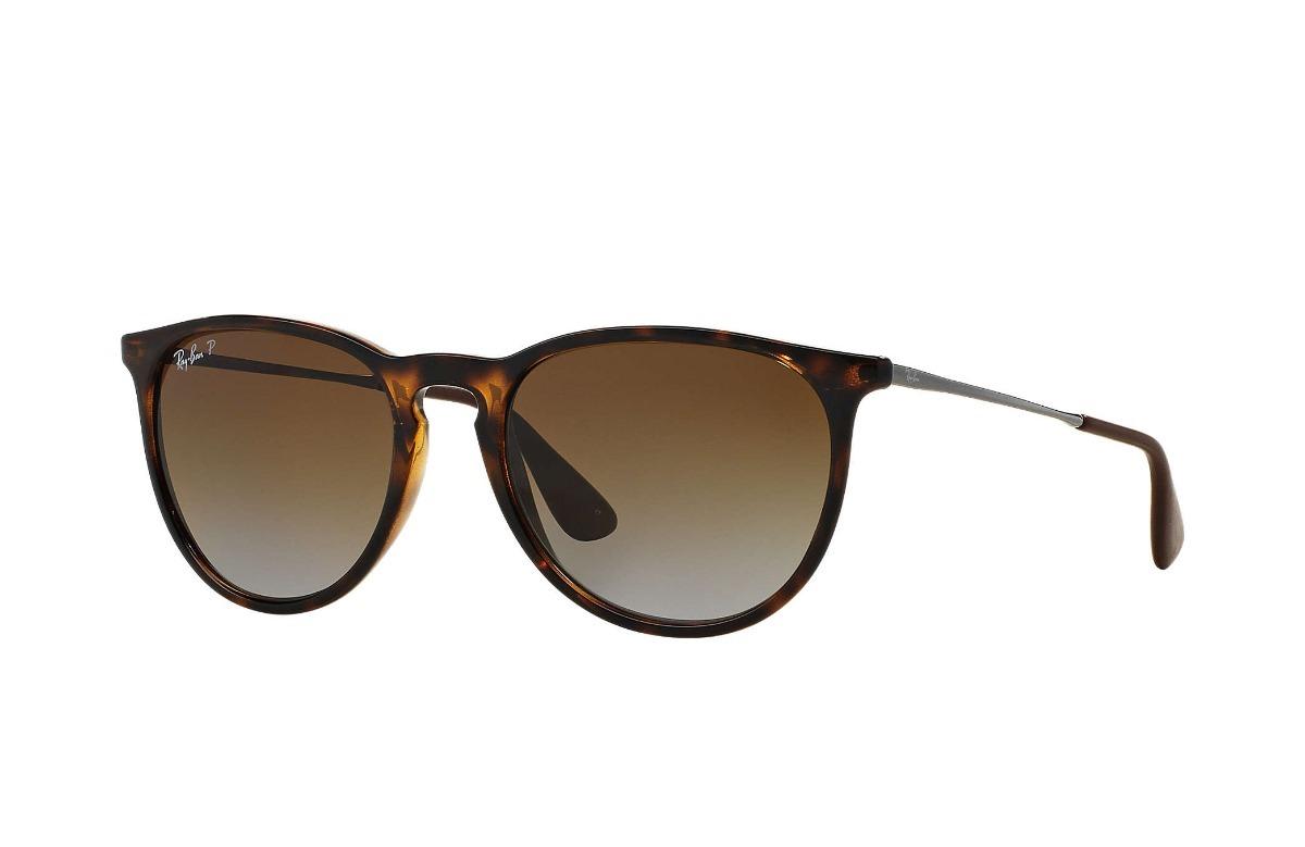 Óculos Ray- Ban Erika Rb4171 - Tartaruga   Polarizado - R  495,00 em ... 1f9b03d83b