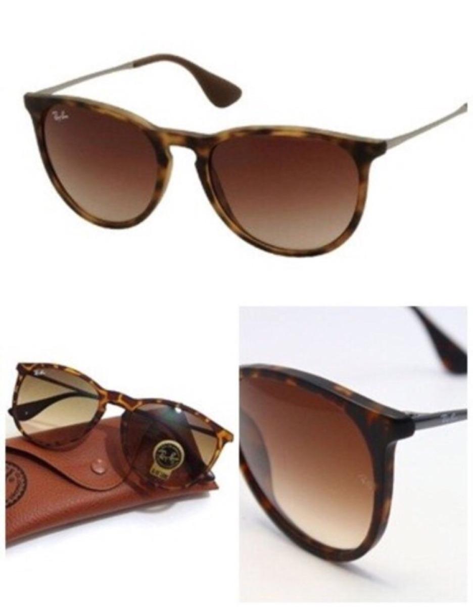Óculos Ray Ban Erika Tartaruga Fosco Lente Degradê - R  169,99 em ... 43cbc1336c