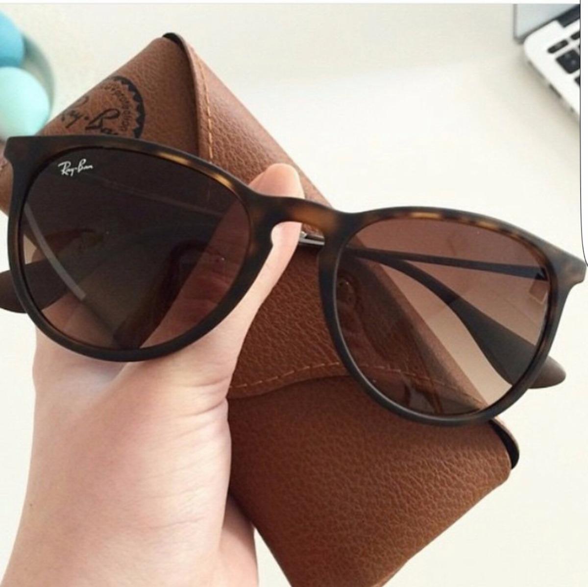 01e8a18af3181 óculos ray ban erika tartaruga marrom fosco original rb4171. Carregando  zoom.