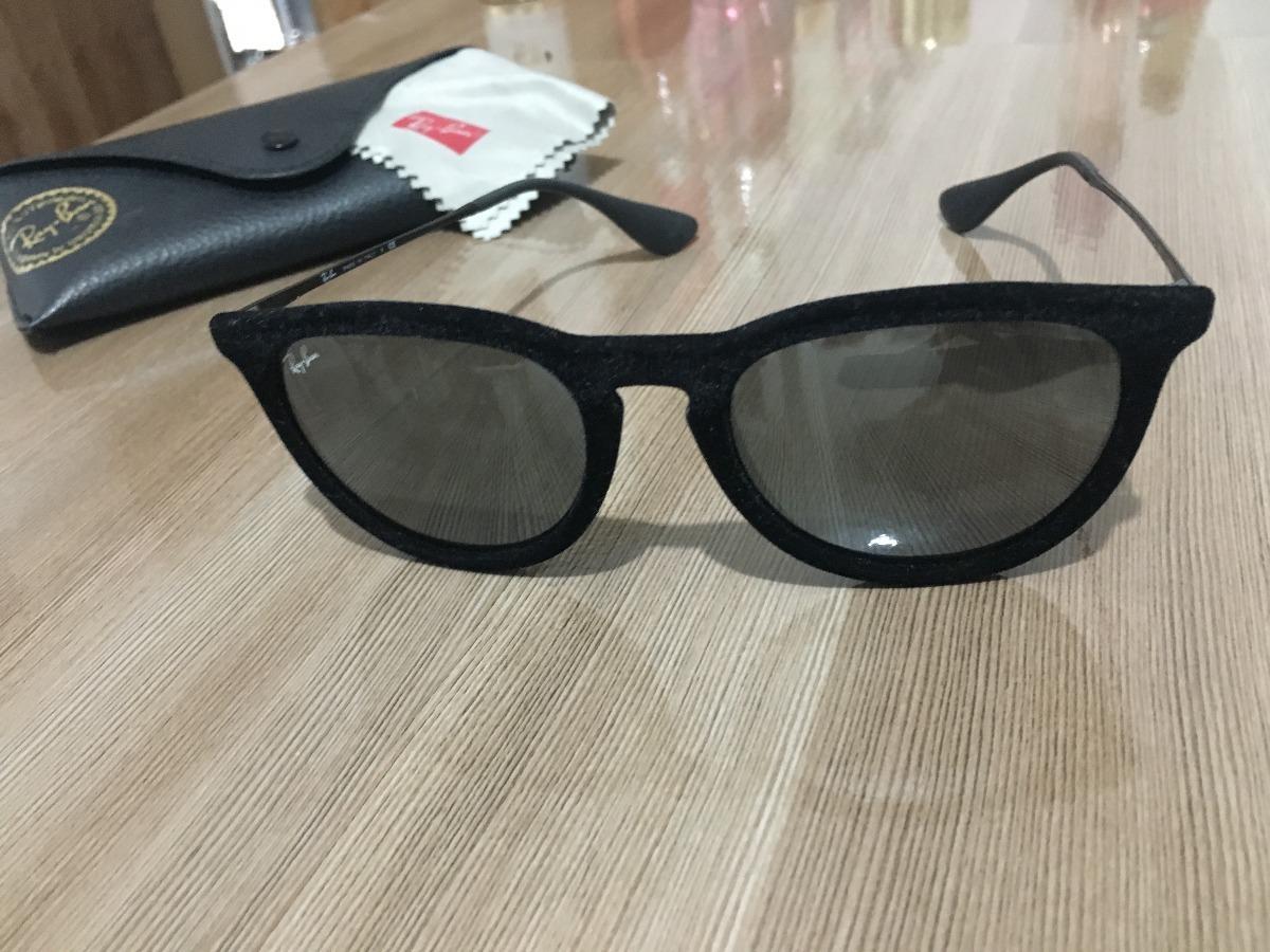 cd7e65bc0 Óculos Ray- Ban Erika Veludo Original Usado - R$ 220,00 em Mercado Livre