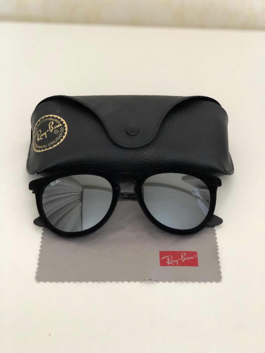 8146c383ce9dc Óculos Ray Ban Erika Velvet Espelhado - R  300