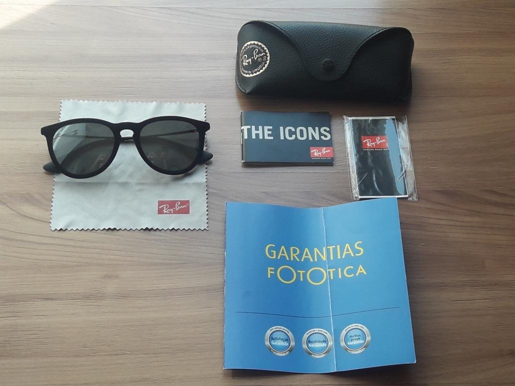 óculos ray ban erika velvet preto veludo original com caixa. Carregando  zoom. 0b23ecd88f