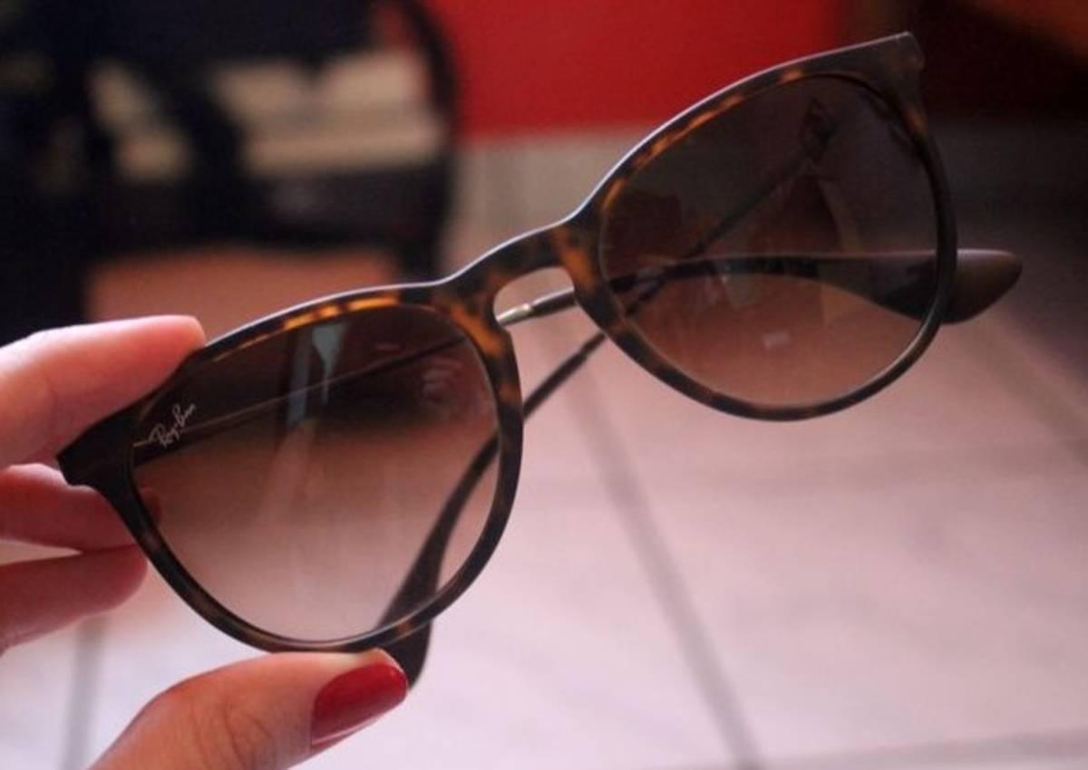 óculos ray ban feminino erika tartaruga rb4171 original. Carregando zoom. 53e3bcc0d0