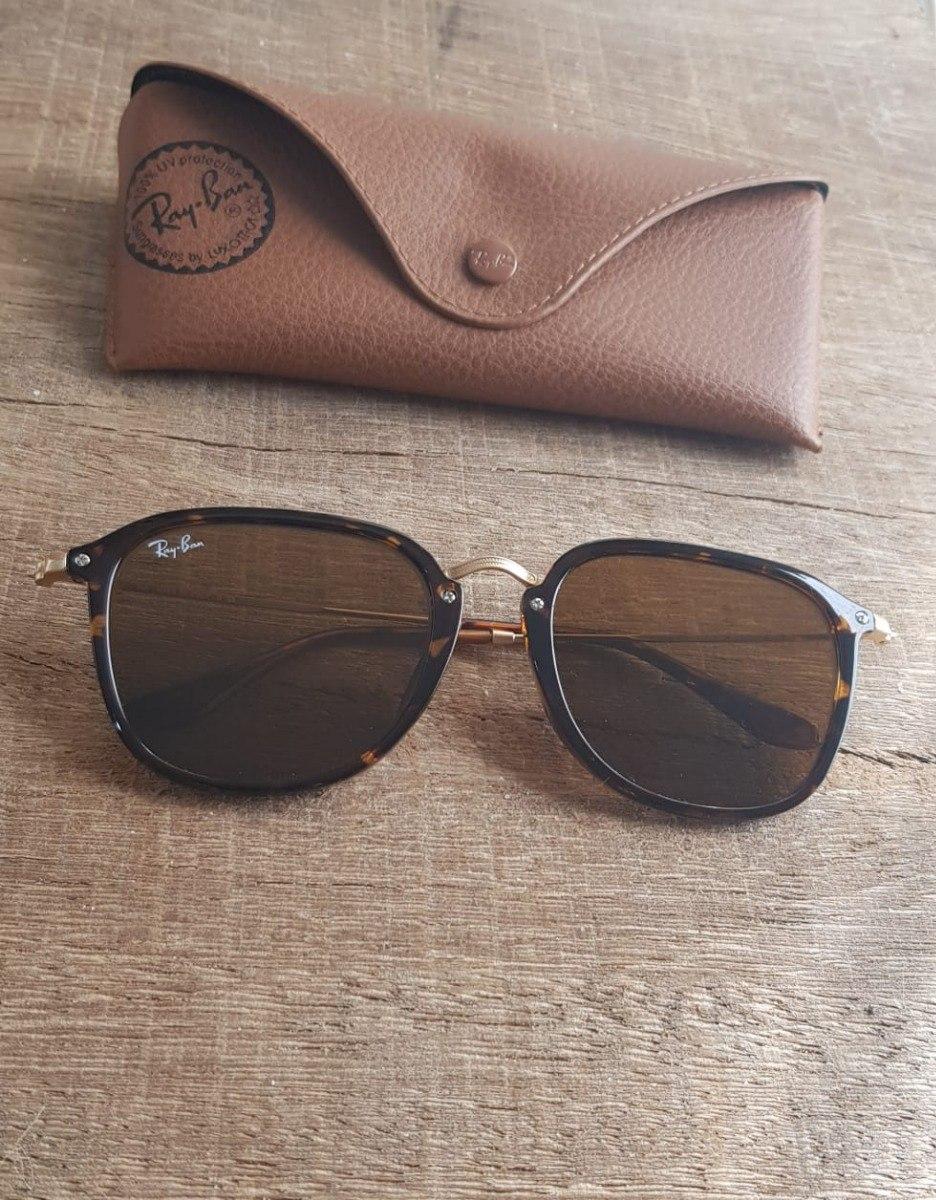 e81cb72e4986e óculos ray ban fleck rb2448 tartaruga marrom black friday. Carregando zoom.