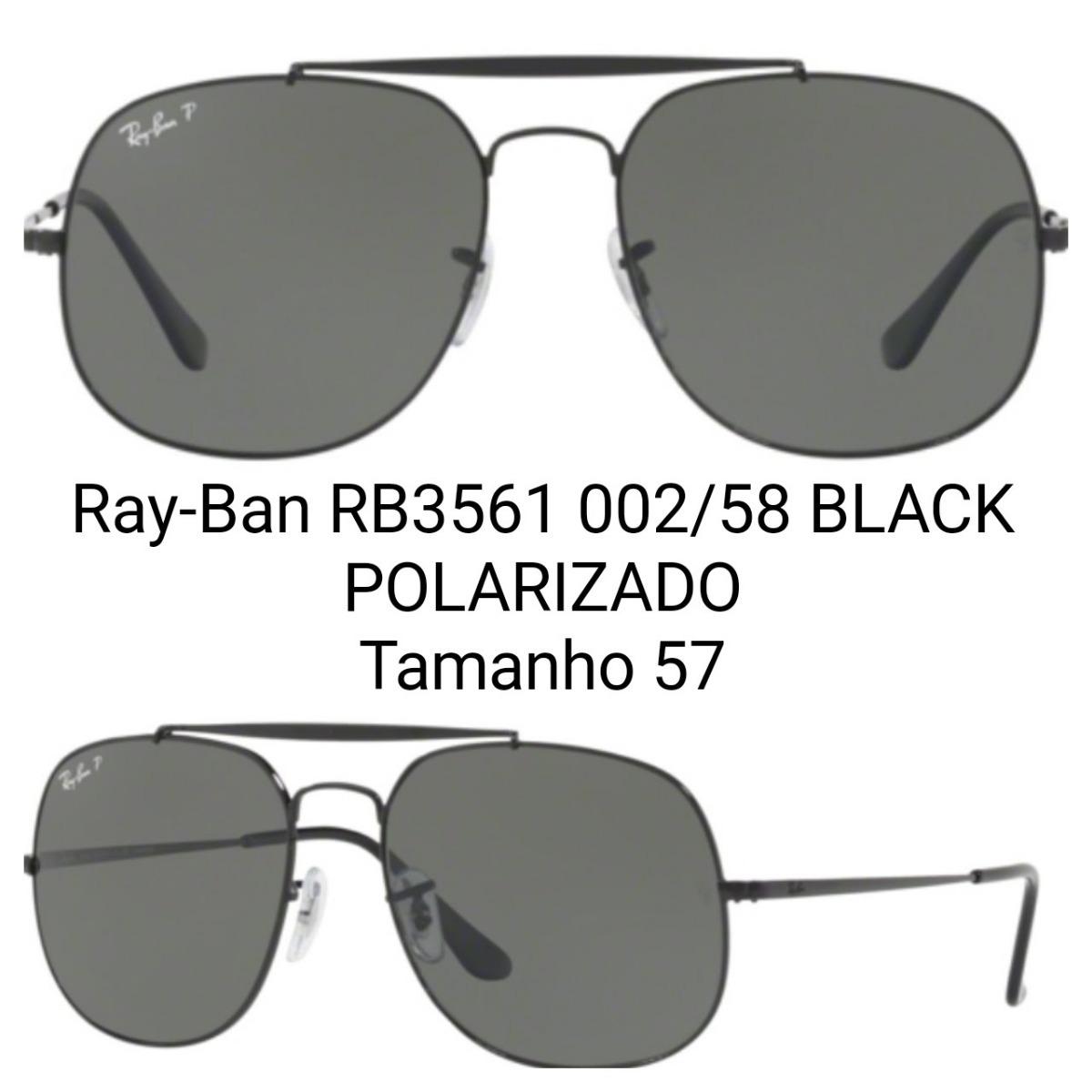 dac92a42b45e9 óculos ray-ban general - rb3561 - polarizado - frete grátis. Carregando  zoom.