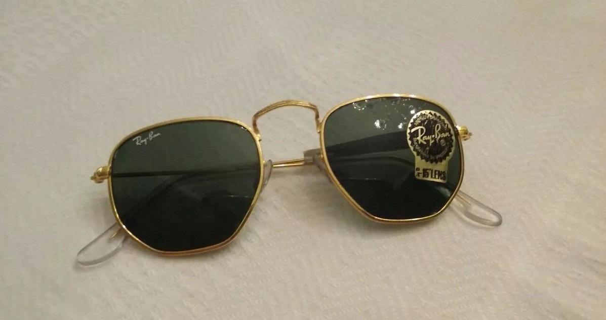 Óculos Ray Ban Hexagonal Vintage Lentes Bausch   Lomb - R  339,00 em ... ce4292fe64