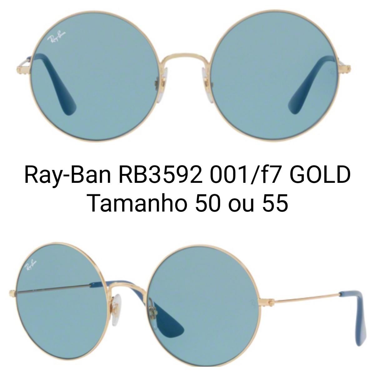 616a81873a7c0 Óculos Ray-ban Ja-jo - Rb3592 - Frete Grátis - R  385,00 em Mercado ...