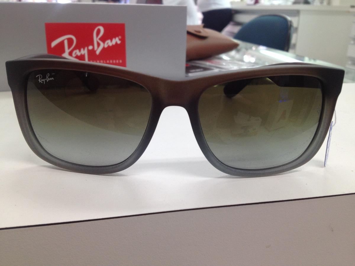 Oculos Solar Ray Ban Rb 4165l Justin 854 7z Original Pronta - R  399 ... 21beba4d27