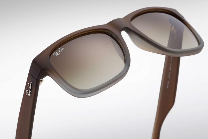óculos ray ban justin clássico rb4165 semi-novo. Carregando zoom. e0ad6fcadc069