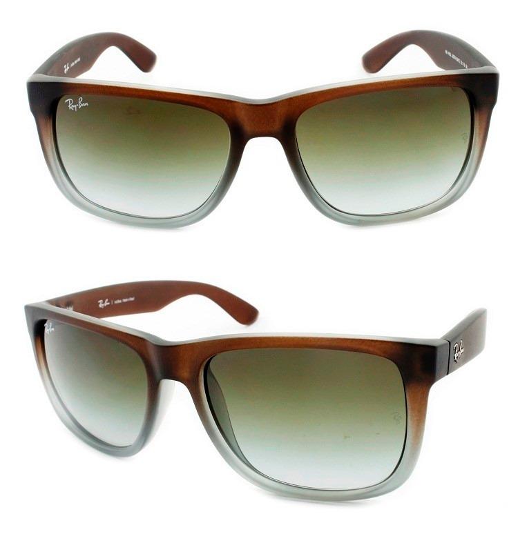 bc228f343 Óculos Ray-ban Justin Masculino Rb 4165 854/7z Original - R$ 399,00 ...