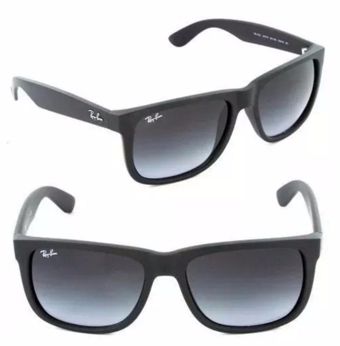 46a17869e6b90 óculos ray ban justin preto degrade orignal rb4165 622 t3 po. Carregando  zoom.