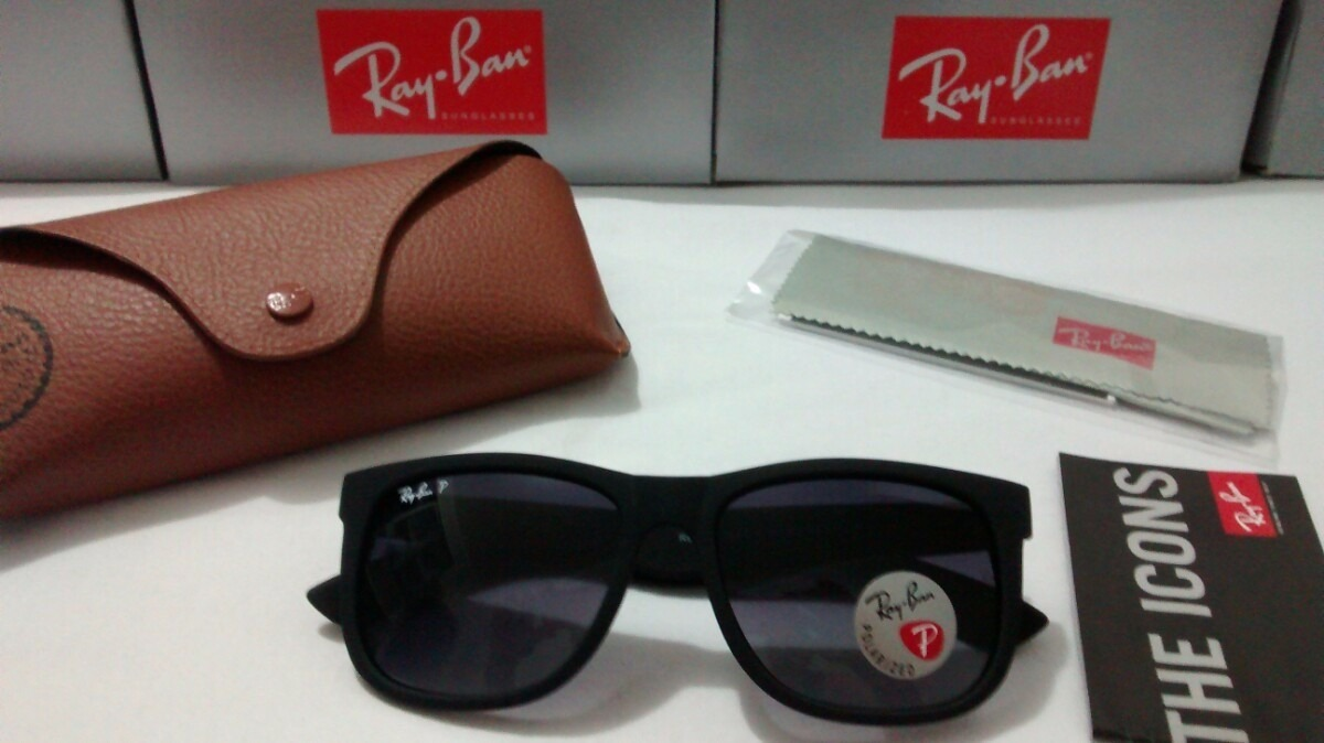 b05f87f01c156 oculos ray ban justin rb4165 original frete gratis. Carregando zoom.