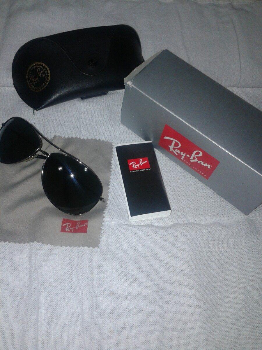 Oculos Ray-ban Masculino Aviador Original Usado - R  400,00 em ... 2298008f4d