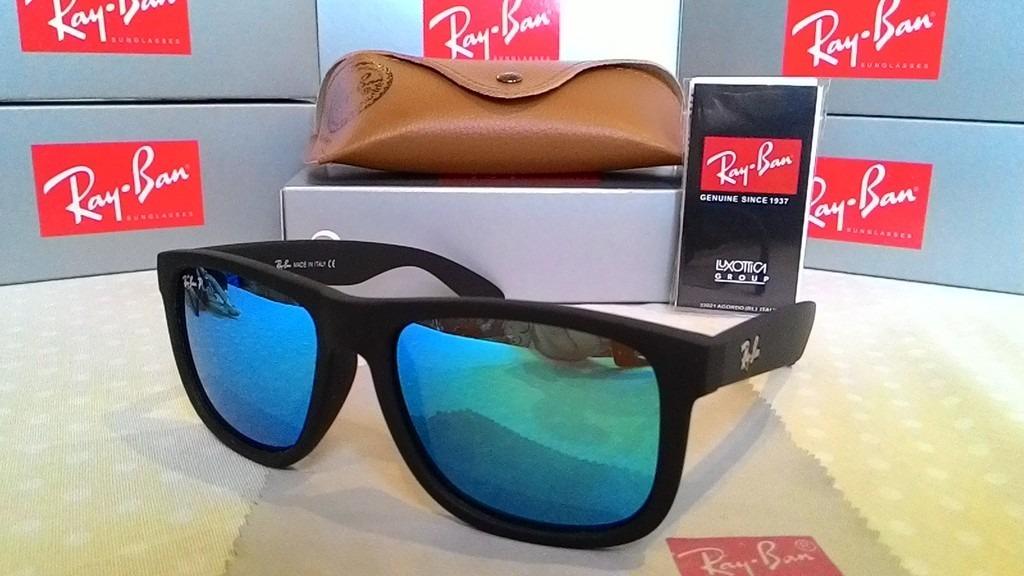 óculos ray ban modelo justin 4165 fosco masculino feminino. Carregando zoom. b2b06db2c4