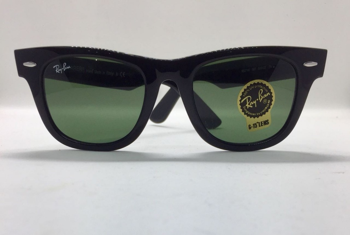 Óculos Ray-ban Novo E Original 2140 Wayfarer G-15 - R  390,90 em ... b748bb0056