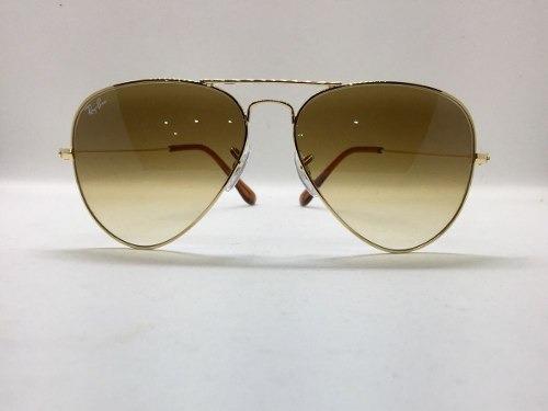 0ed0073602425 Óculos Ray-ban Novo E Original 3025 Aviador - R  219