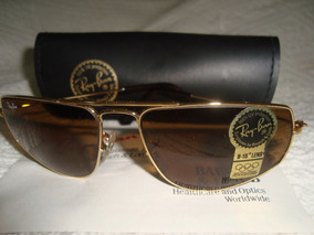 55f1dc606 Ray Ban Bl Espelhado Banhado A Ouro Pequeno Americano - Óculos no ...