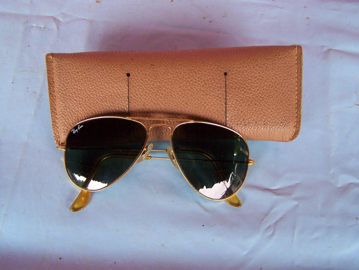 5c4dd9484 Óculos Ray Ban Original Antigo Bl B L B &l Aviador - R$ 150,00 em ...