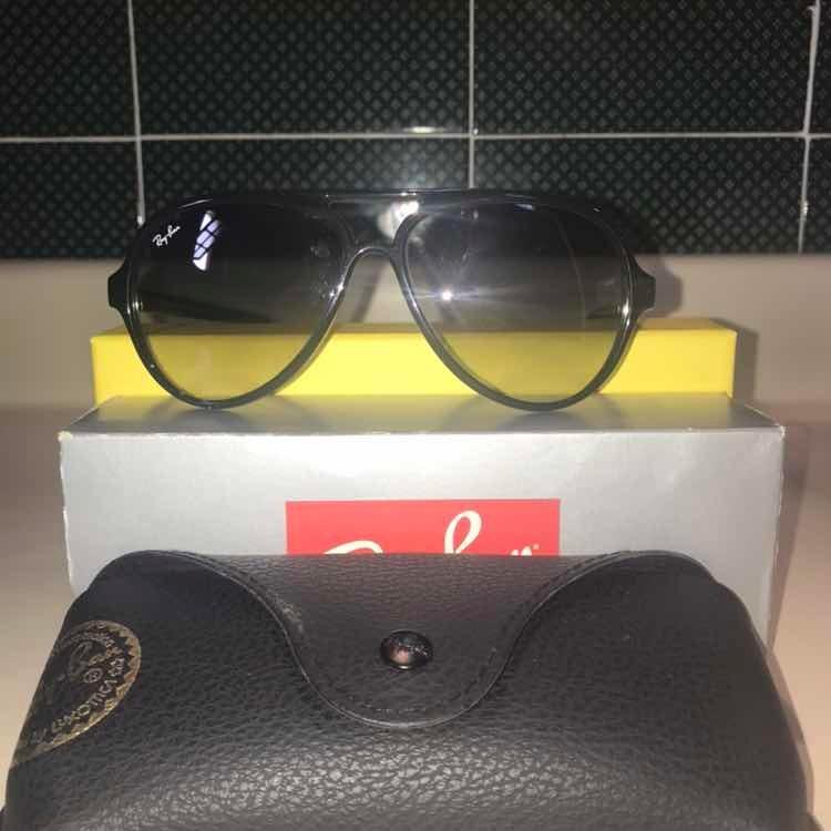 769585545 Óculos Ray Ban Original -cats 5000 Classic - R$ 375,00 em Mercado Livre