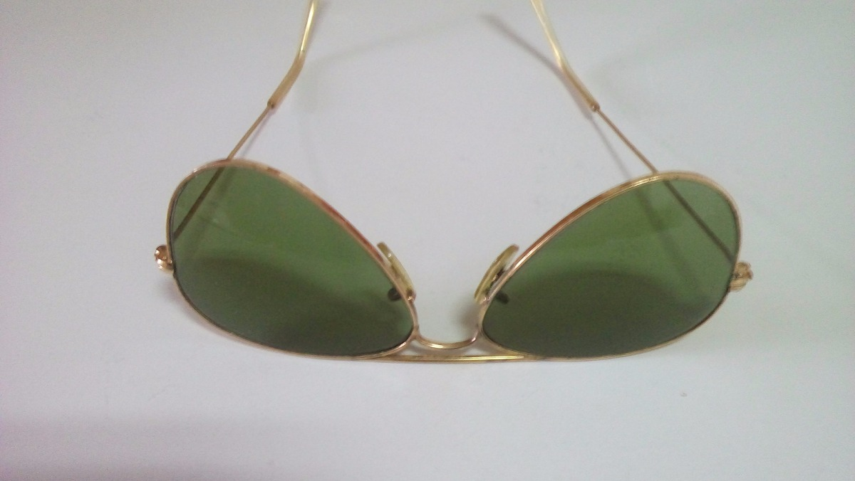 0e6daa59fbe6e Oculos Ray Ban Original E Antigo De Ouro E Porta Oc couro - R  440 ...