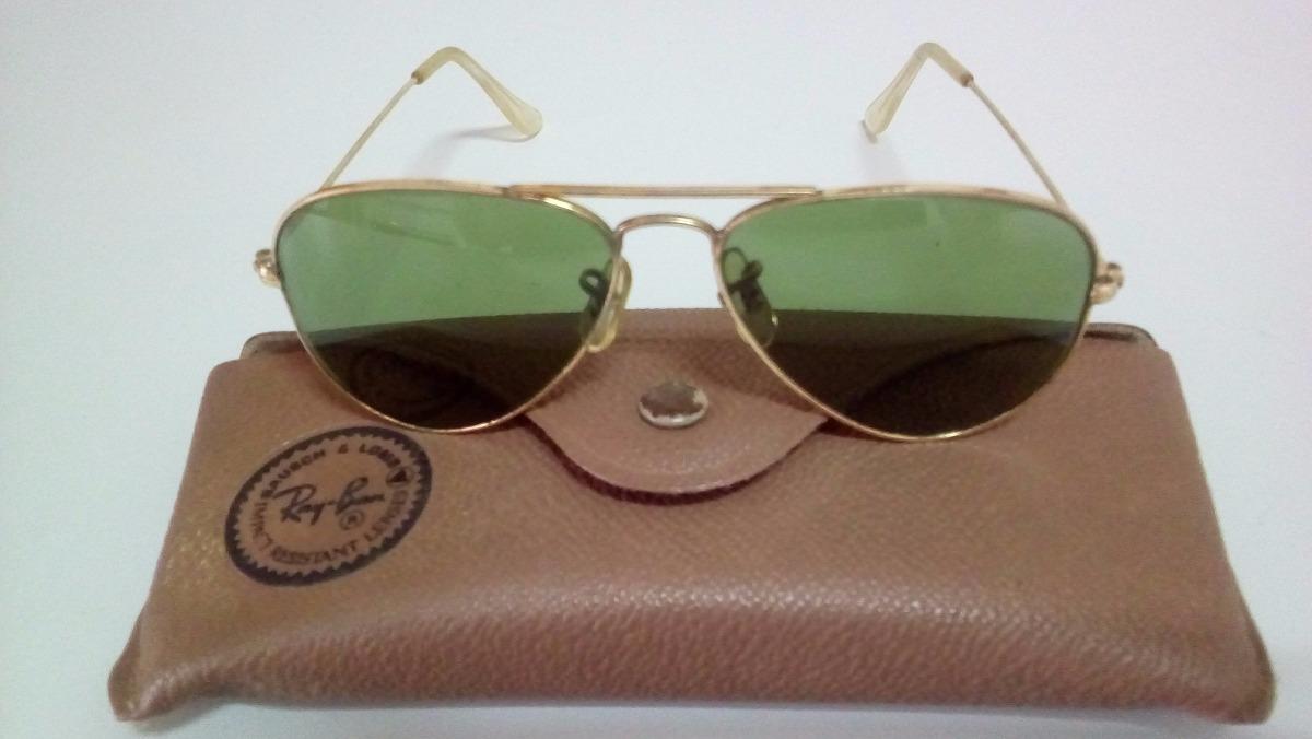 Oculos Ray Ban Original E Antigo De Ouro E Porta Oc couro - R  440 ... de5c75d4c6