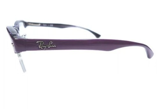 32bb212f2 Óculos Ray-ban Original Em Acetato Roxo - Rb7014 - P/ Grau - R$ 319 ...
