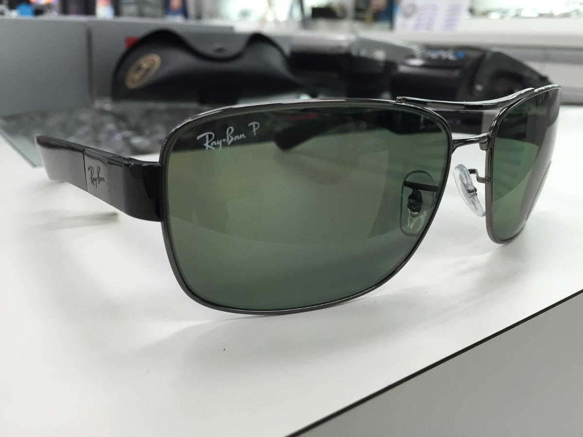 f3a7962d94d9b oculos ray ban polarizado rb3522 004 9a 64 made in italy. Carregando zoom.